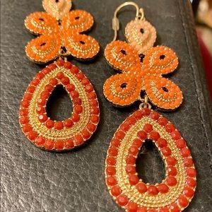 Stella & Dot Capri Chandelier Earrings